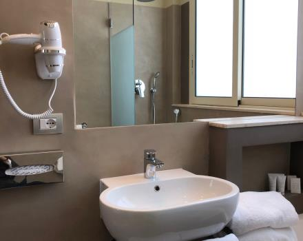 The Piccadilly Hotel bathroom renovated in 2018