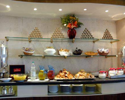 Start your day well with the fantastic breakfast at the Best Western Hotel Piccadilly in the heart of Rome!