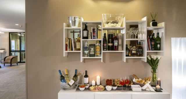 Bar Point nella Hall del Best Western Hotel Piccadilly a Roma