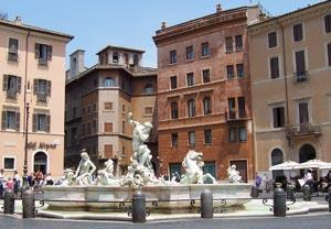 Piazza navona Rome picadilly